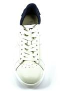Game Saltire Navy White Leather
