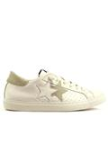 2SU White Leather Ice Suede Details
