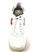Orion Winter Canvas White Leather Red Black