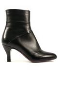 Thea Black Nappa Leather