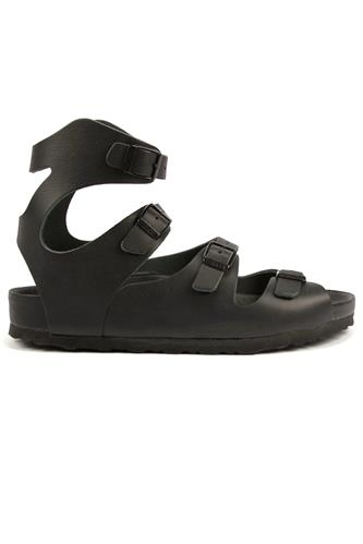 Athen EVA Black Leather, BIRKENSTOCK