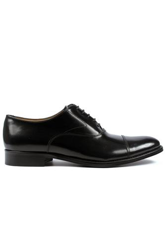 DEVONLace-Up Classic Black Cordovan Leather