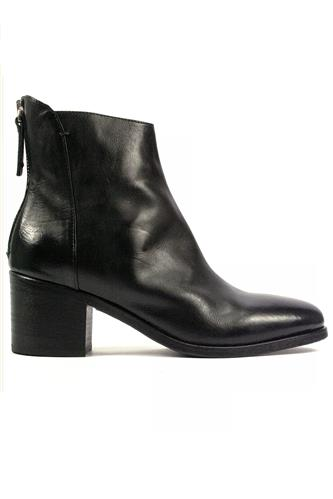 Low Boots Black Leather, INTERNO1