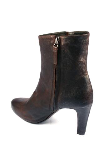 Ankle Boots Dark Brown Buffalo