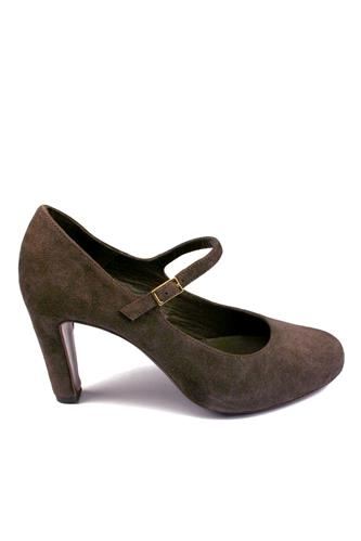 Shoes Dark Brown Oiled Suede, ADRIANO AGOSTINI