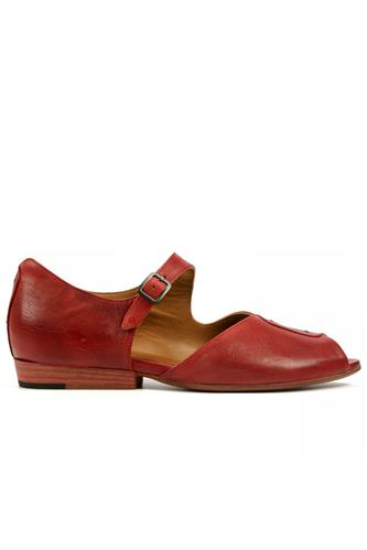 Space Puma Brick Red Leather, PANTANETTI