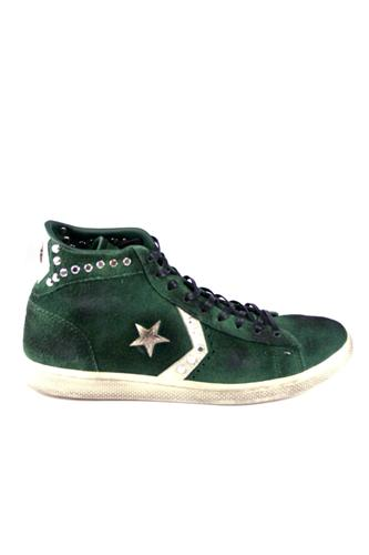 Pro Lea Lp Mid Suede Studs Ltd Green Pine, CONVERSE Limited Edition