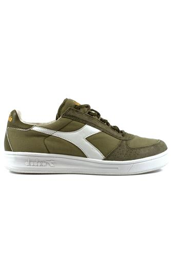 B.Elite C S Burnt Olive White Canvas Suede, DIADORA heritage