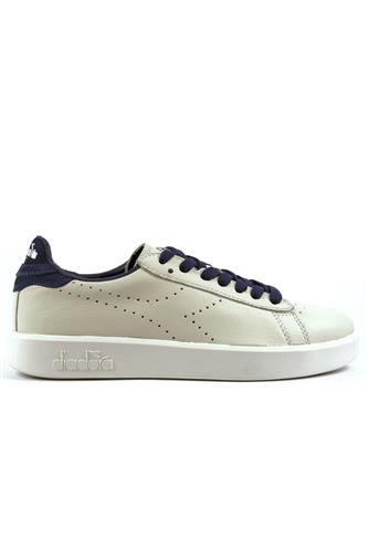 Game Saltire Navy White Leather, DIADORA heritage