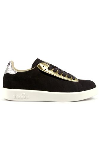 Game Luxury Black Gold Silver, DIADORA heritage