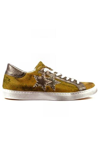 2S Low Yellow Aged Suede Silver, 2STAR