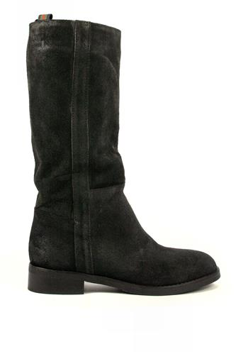 Boots Black Aged Suede, LATIKA