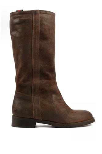 Boots Brown Aged Suede, LATIKA