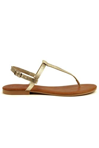 Sandal Platinum Leather, LATIKA