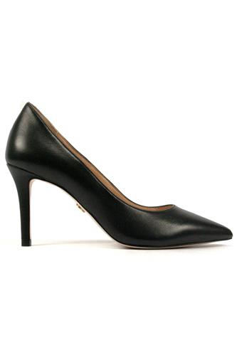 Sammy Decollete Black Leather, CARMENS