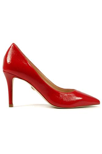 Sammy Decollete Red Patent Laather, CARMENS