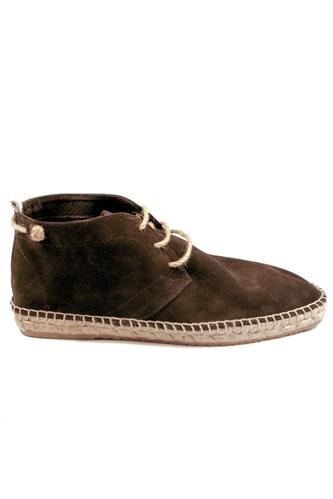WILLIOTEspadrillas Lace Up Brown Suede