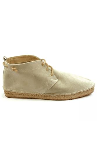 WILLIOTEspadrillas Lace Up Light Grey Sand