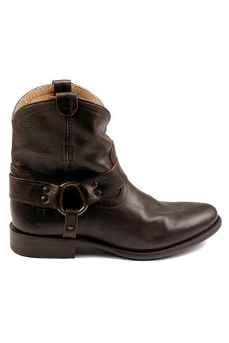 Wyatt Harness Short Dark Brown, FRYE - since 1863