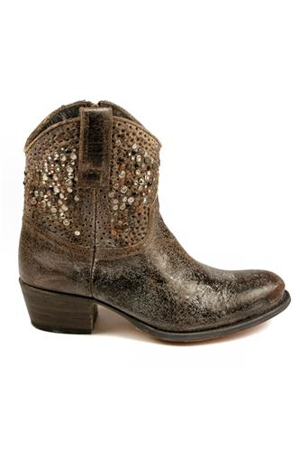 Deborah Studded Grey Crackle, FRYE - since 1863