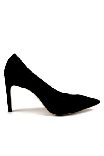 Decollete Soft Suede Black Elastic Profile, ROBERTO FESTA