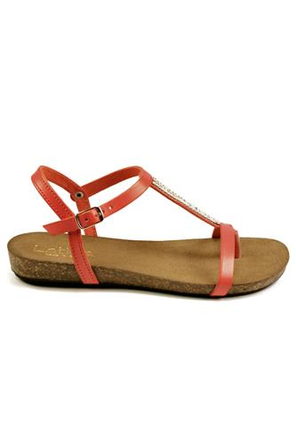 Sandal Coral Leather, LATIKA