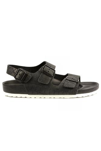 Milano Black Stamped Leather, BIRKENSTOCK