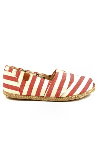 Espadrillas Juta Red White, PERKY