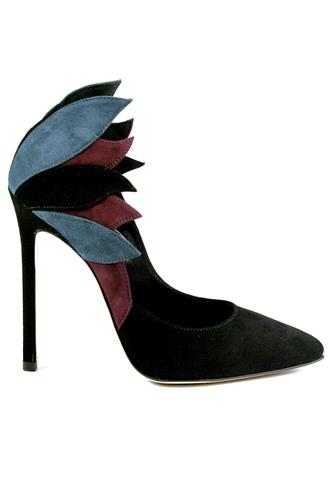 Air Patchwork Suede Black Blue Wine, GIBELLIERI