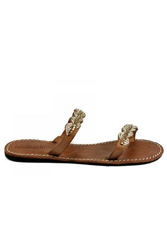 Aria Light Brown Silver, LAIDBACK LONDON