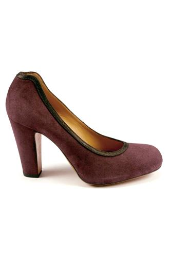 Decolletè Bordeaux Suede, JE VAIS