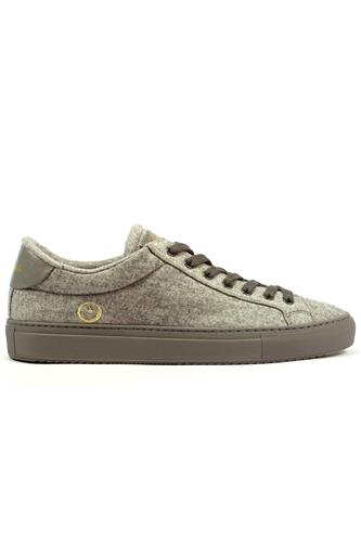 Smart Wool Breathable Dry Grey Sneaker, BARRACUDA