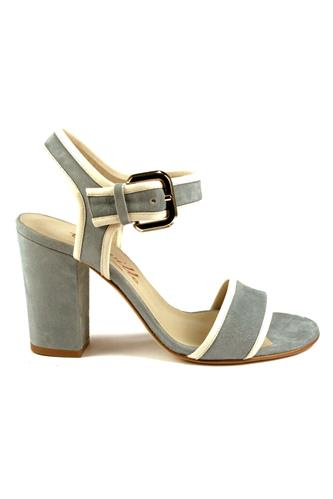 CHEVILLECarol Chalk Sky Blue Suede