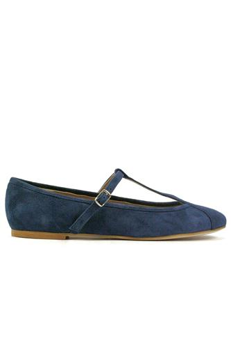 CHEVILLEChloe Blue Suede