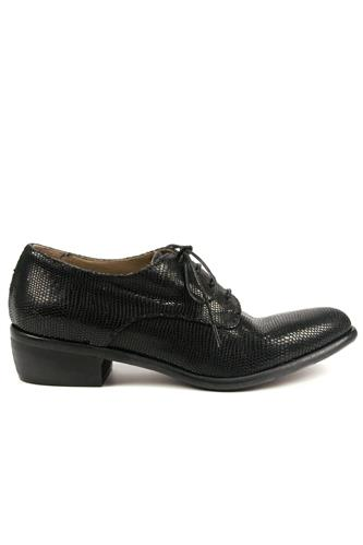 Lace-Up Aspen Lux Black, DUCCIO DEL DUCA