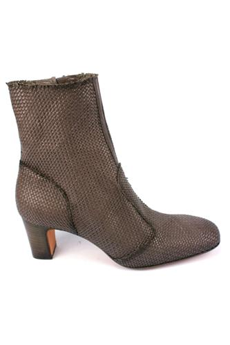 Booties Woven Dark Grey Land, EVA TURNER
