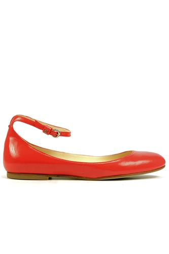 Shoes Coral Harrods Poppy Leather, FABI