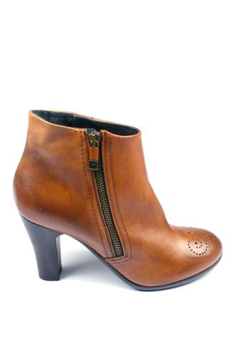 Ankle Boots Brown Cognac, ALBERTO FERMANI