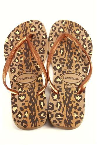 HAVAIANASHavaianas Slim Animals Rose Gold Dark Copper