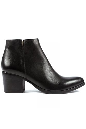 Ankle Boot Black Friend Leather, DUCCIO DEL DUCA