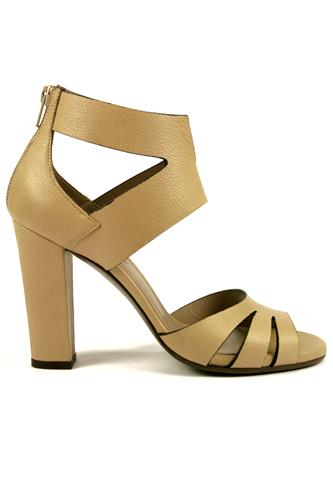 Sandal Rodi Cream Leather, LENA MILOS