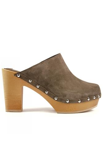 Wood Sabot Bay Dove Grey Suede, MOOD