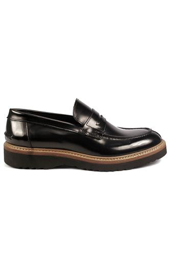 Moccasin Black Sharon Leather, WEXFORD