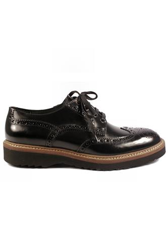WEXFORDShoes Black Sharon Leather