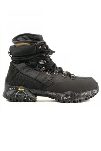 PREMIATAMidtreck Black Nylon Vibram Outsole