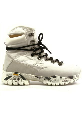 PREMIATAMidtreck White Nylon Vibram Outsole