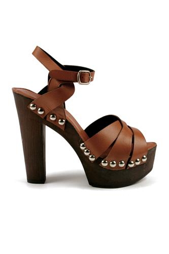 Nathalie Wedge Sandal Brown, DUCA D'ASCALONA