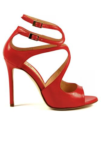 Polly Red Soft Leather, GIBELLIERI