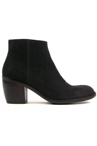 Ankle Boot Black Suede, OASI