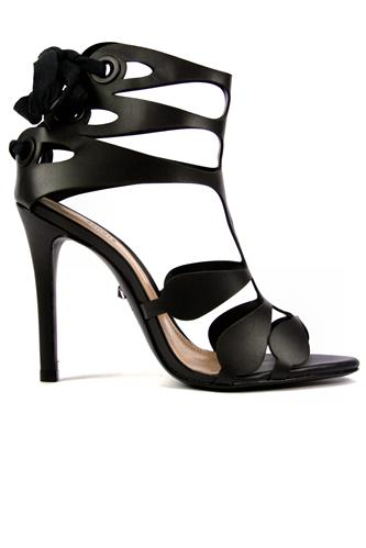 High Sandal Black Leather, SCHUTZ